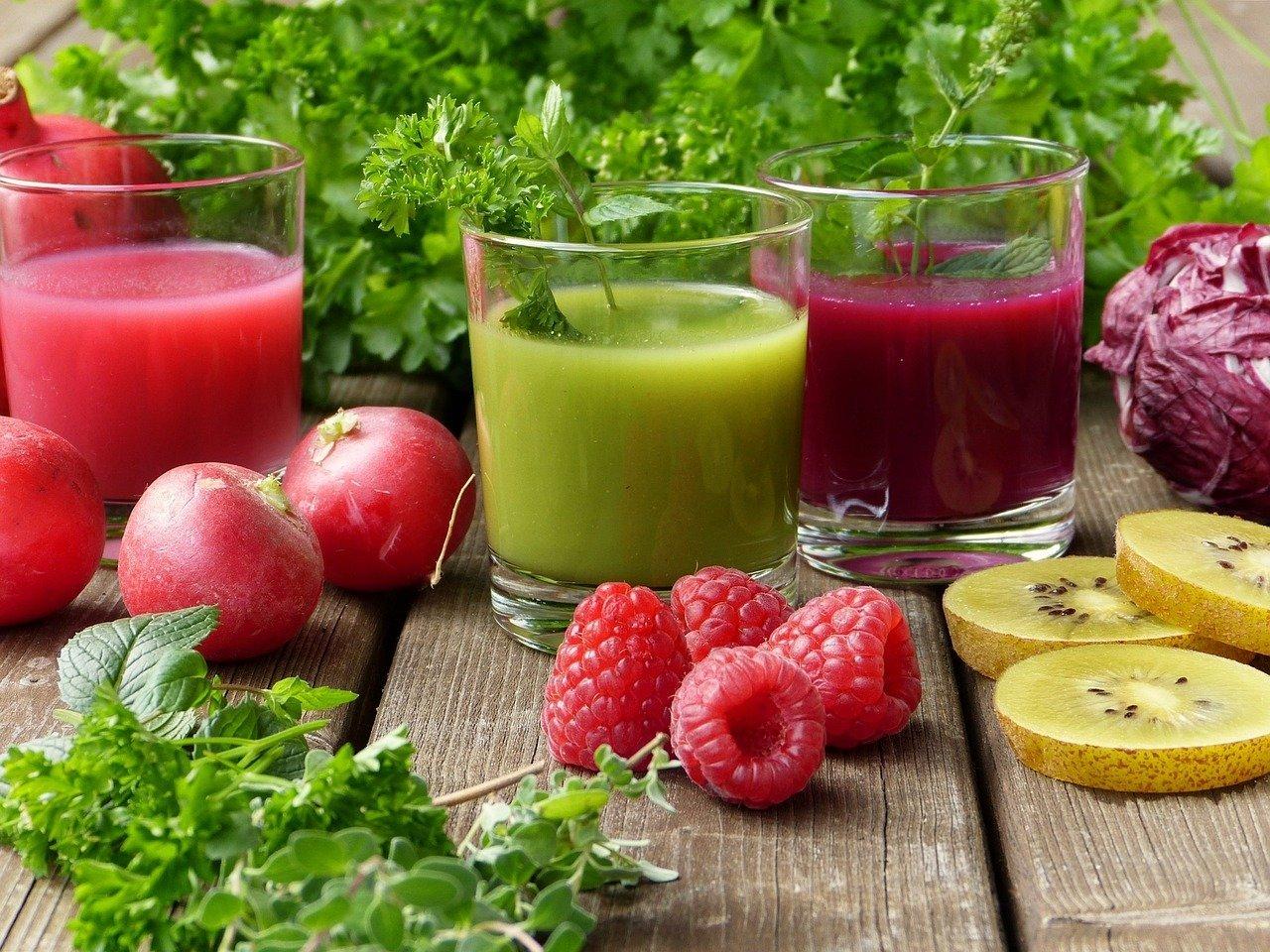 herbs, smoothies, juice